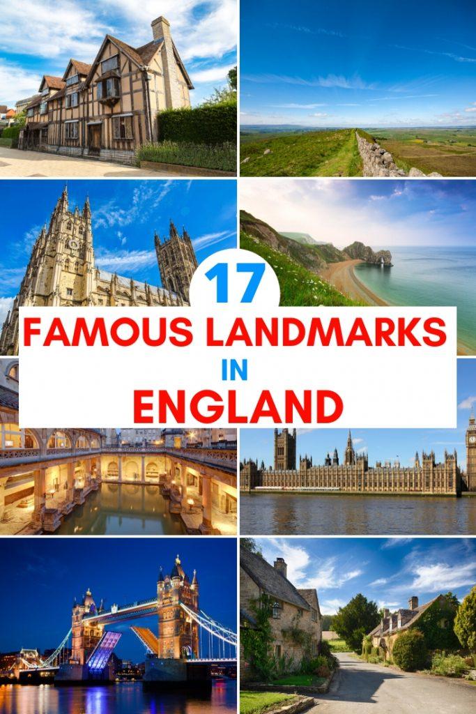 famous landmarks in england