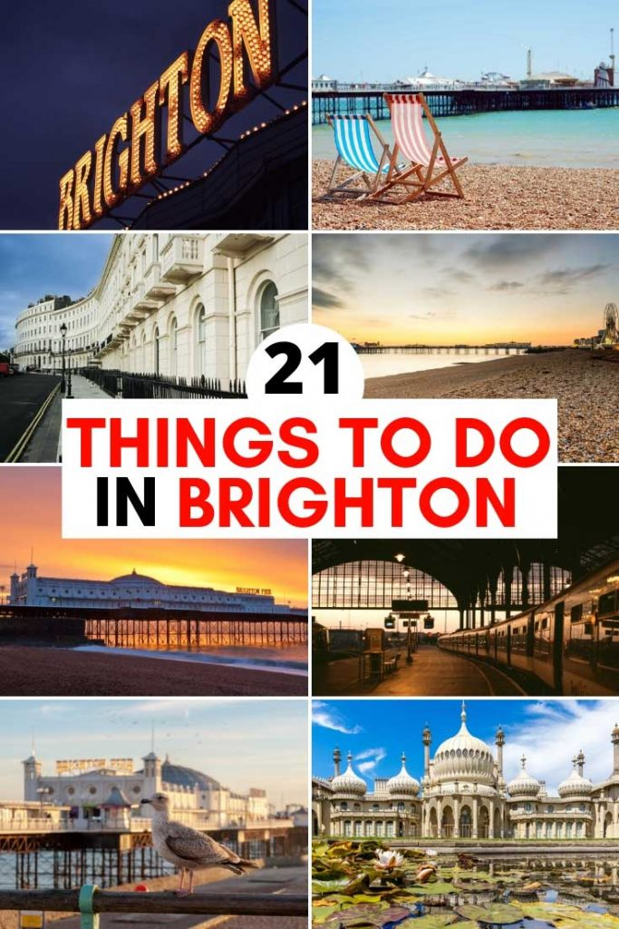 21 Things to do in Brighton